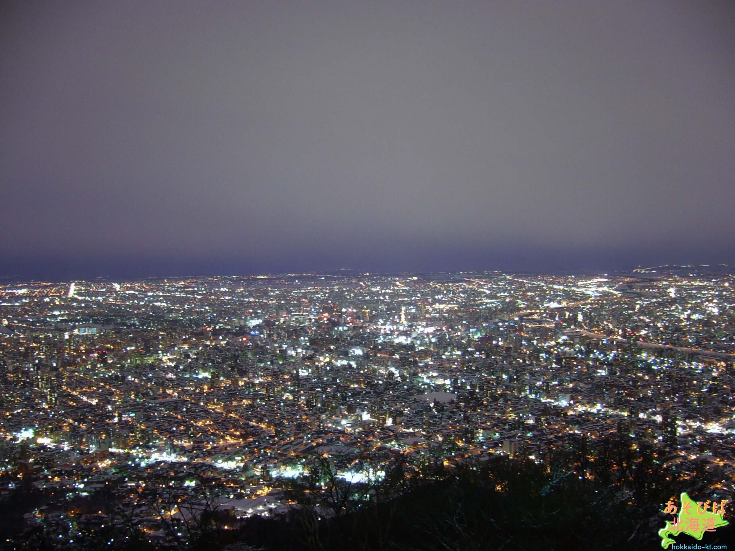藻岩山の夜景