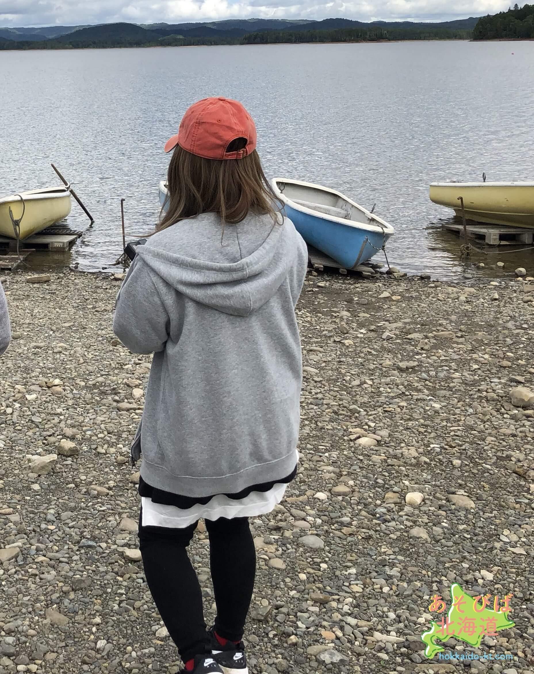 9月上旬道北でキャンプをしている時の服装