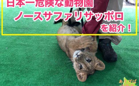 日本一危険な動物園ノースサファリサッポロを紹介