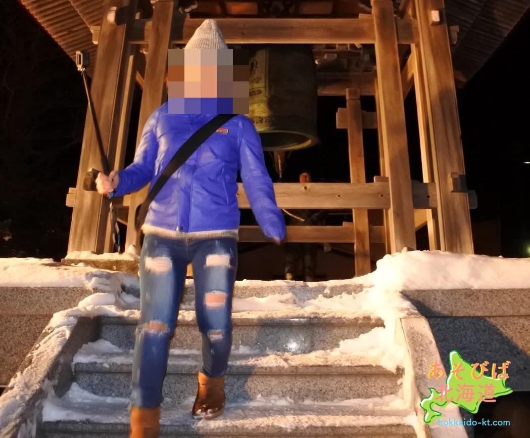 1月上旬の北海道の服装