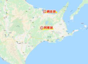 北海道道東のワカサギポイント