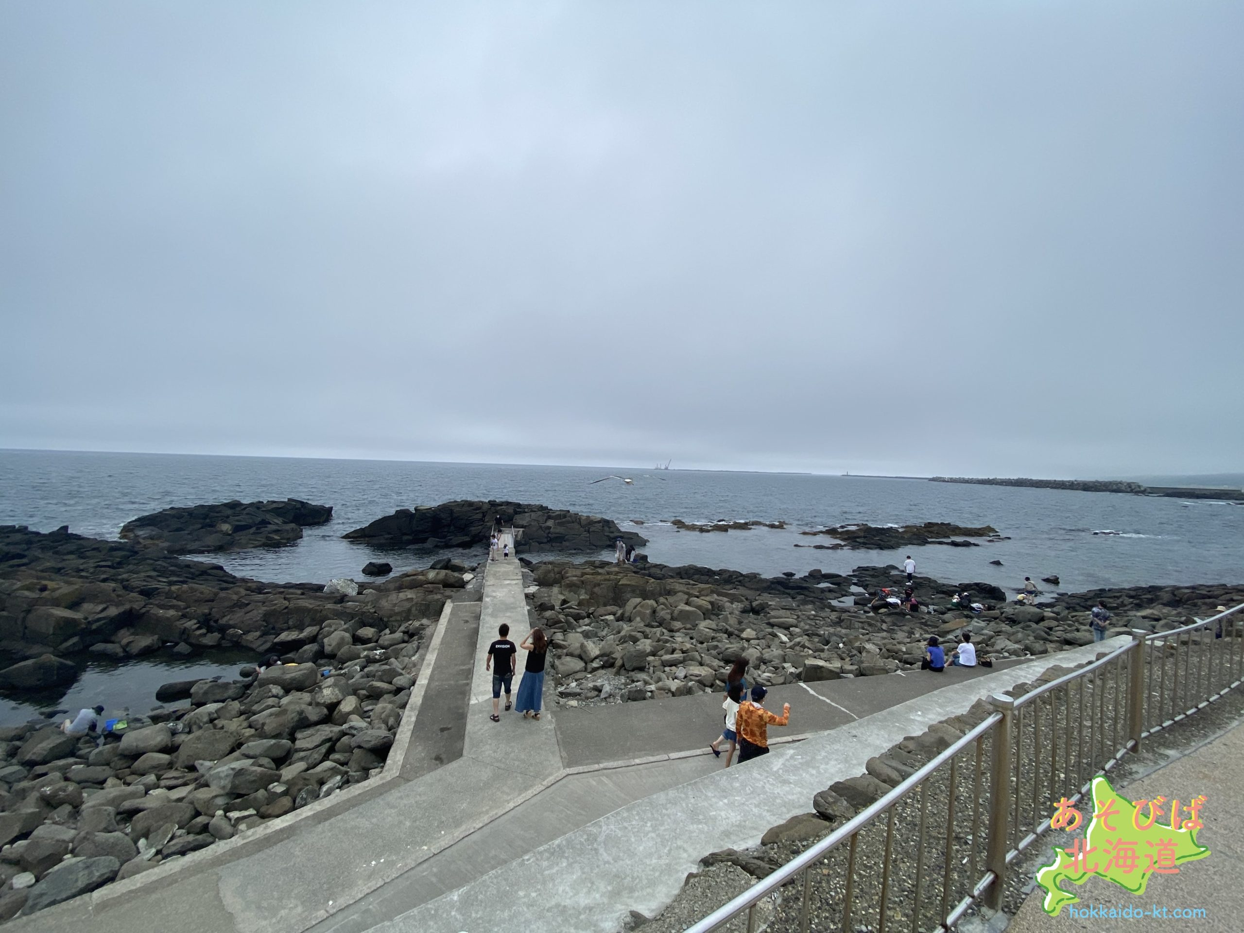 留萌市黄金岬の風景