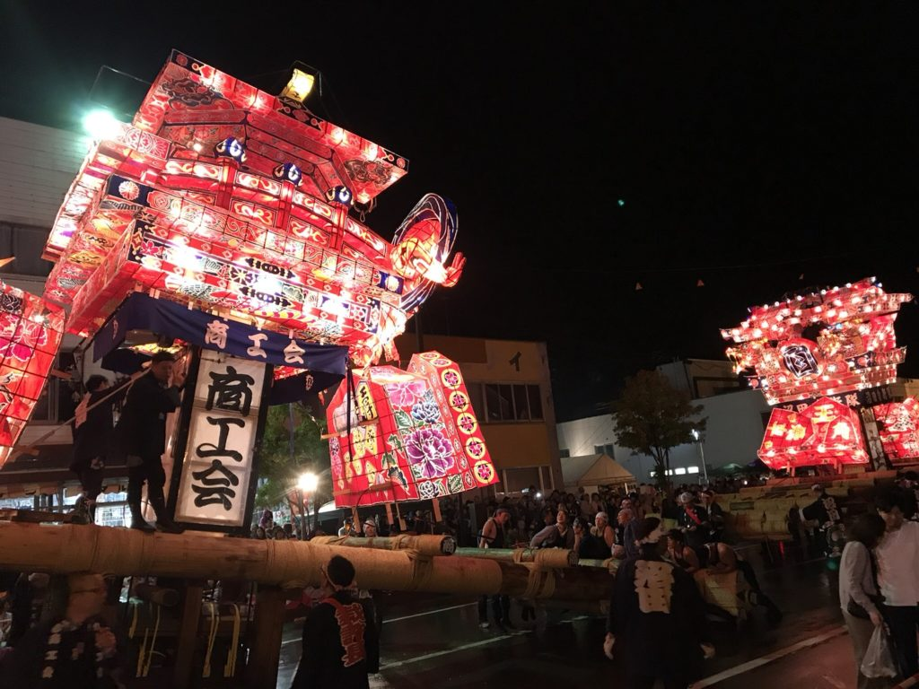 沼田町夜高あんどん祭