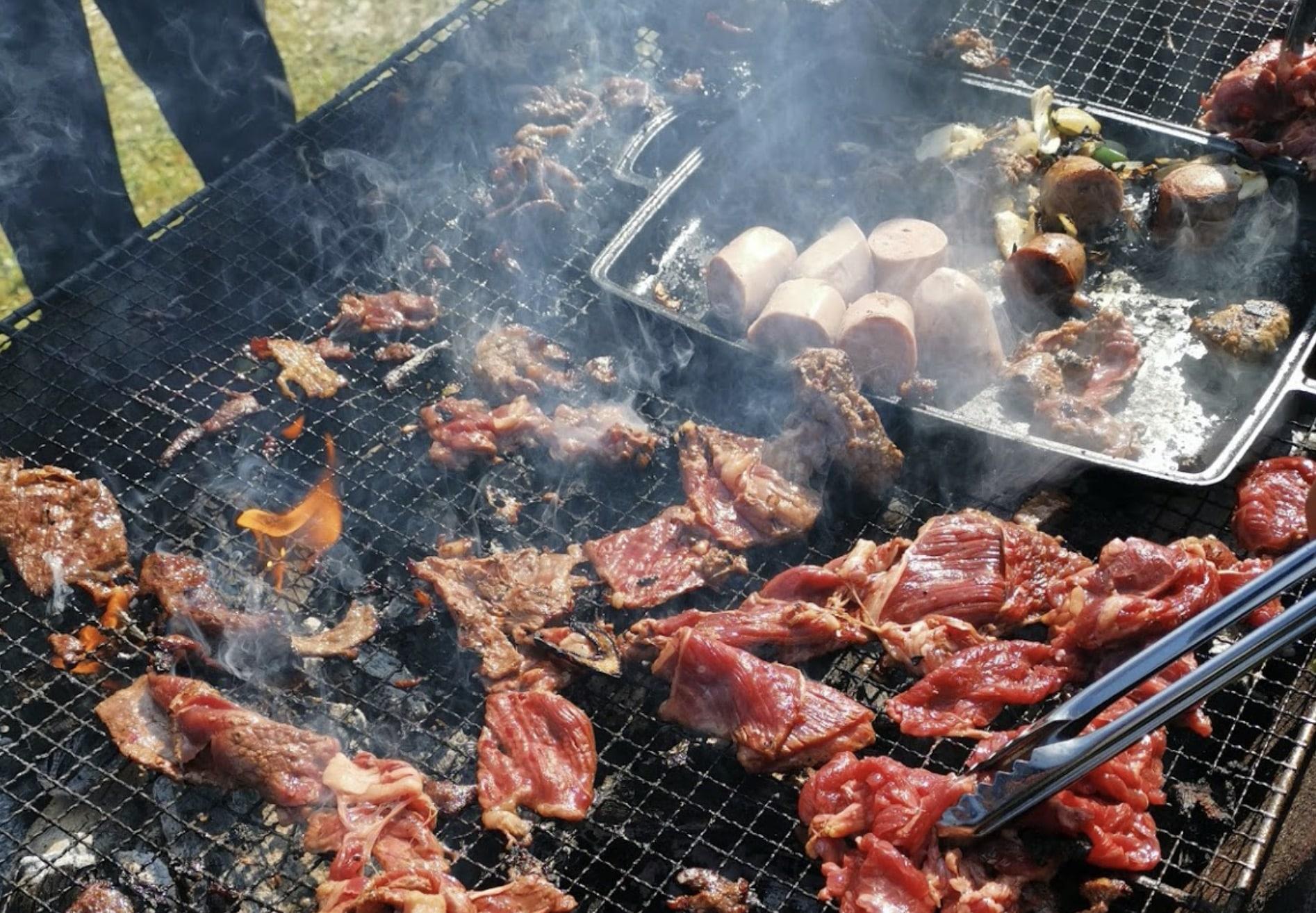 池田町ワイン祭りの道産牛食べ放題