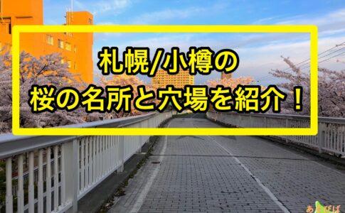 札幌と小樽の昨rの名所と穴場を紹介