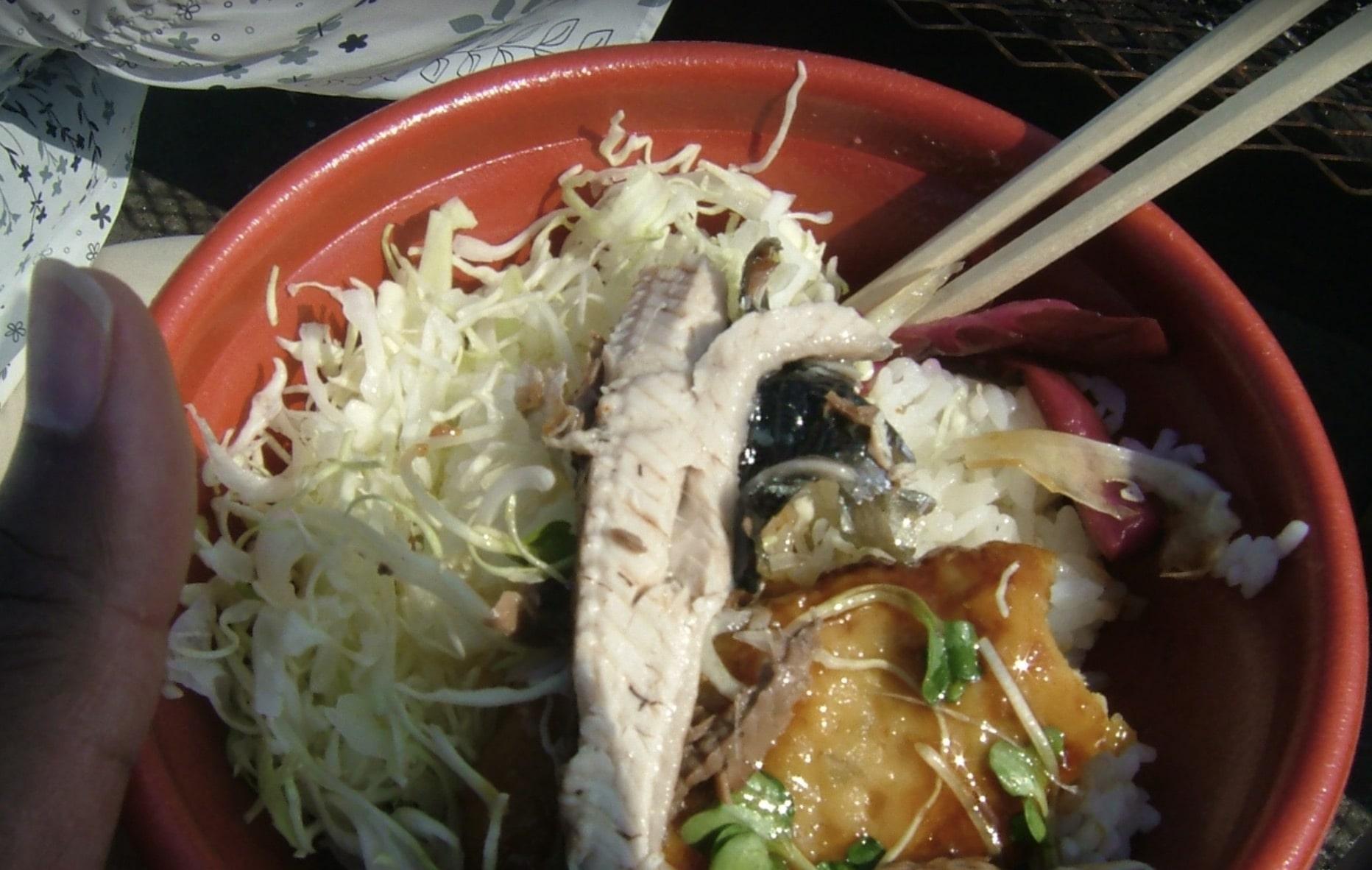 根室さんま祭りのさんま料理