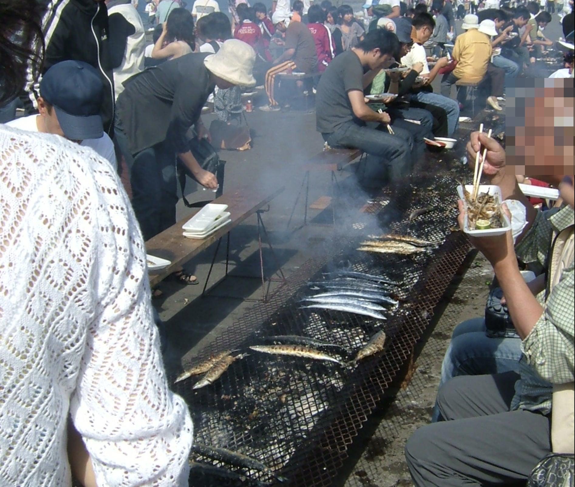根室サンマ 祭り