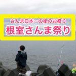 根室さんま祭り記事