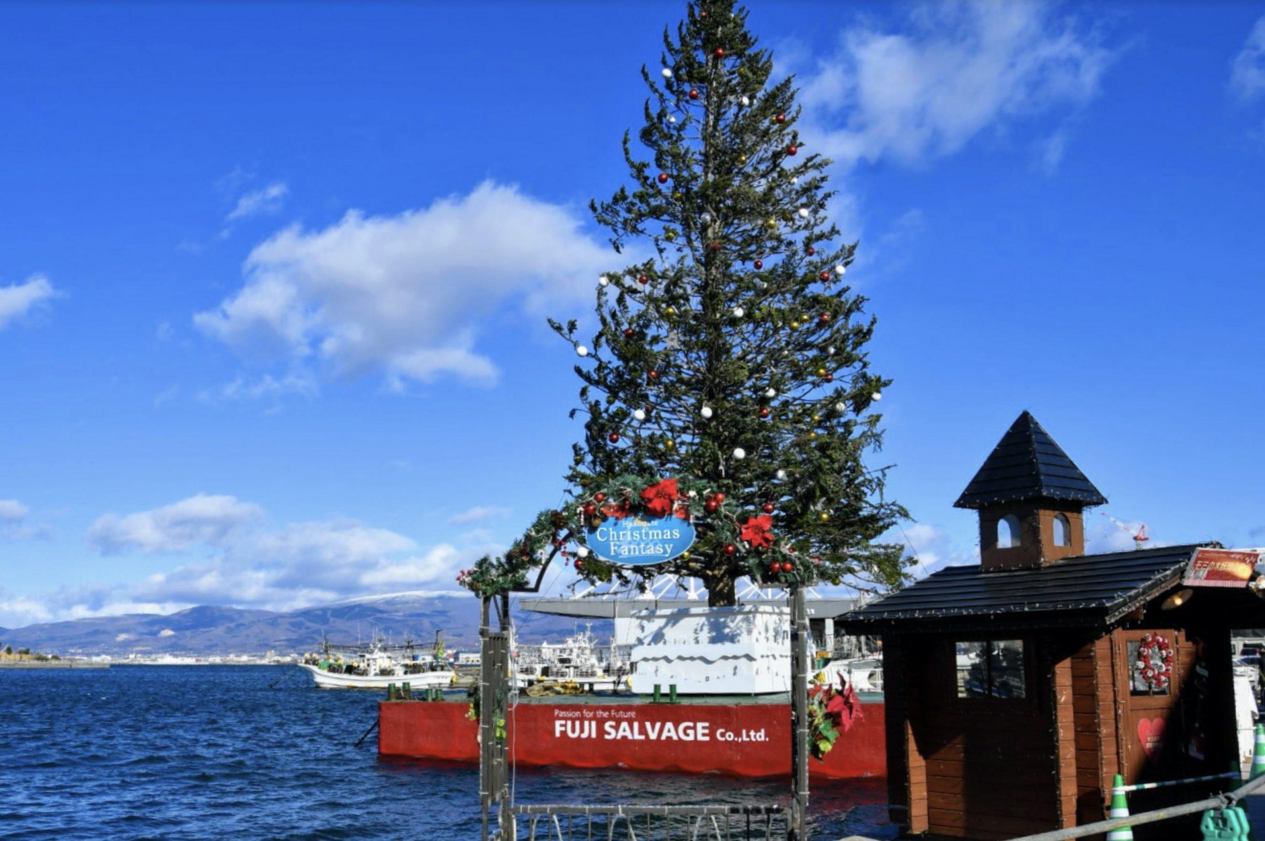 はこだてクリスマスファンタジーのクリスマスツリー