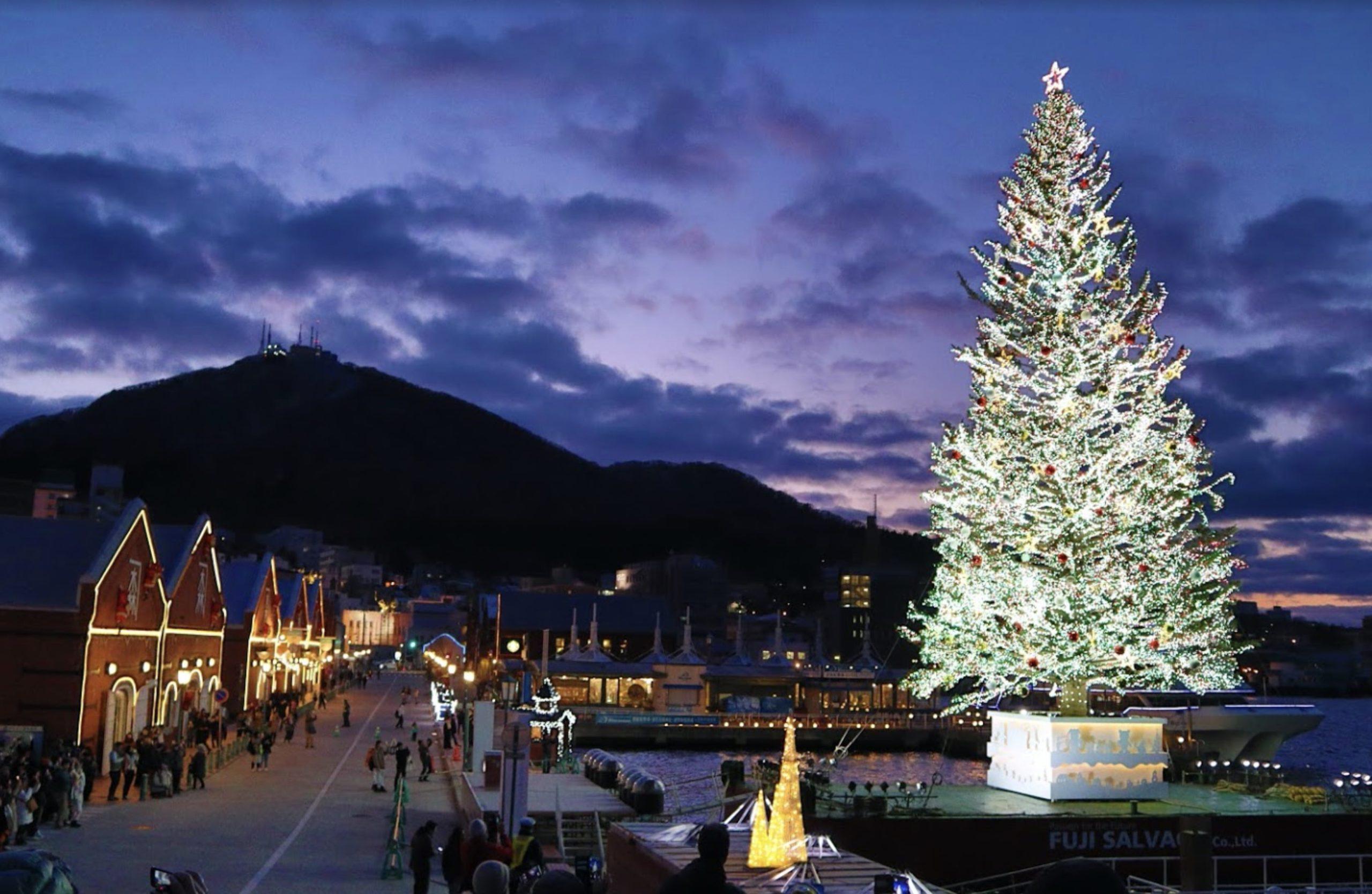 はこだてクリスマスファンタジーの風景