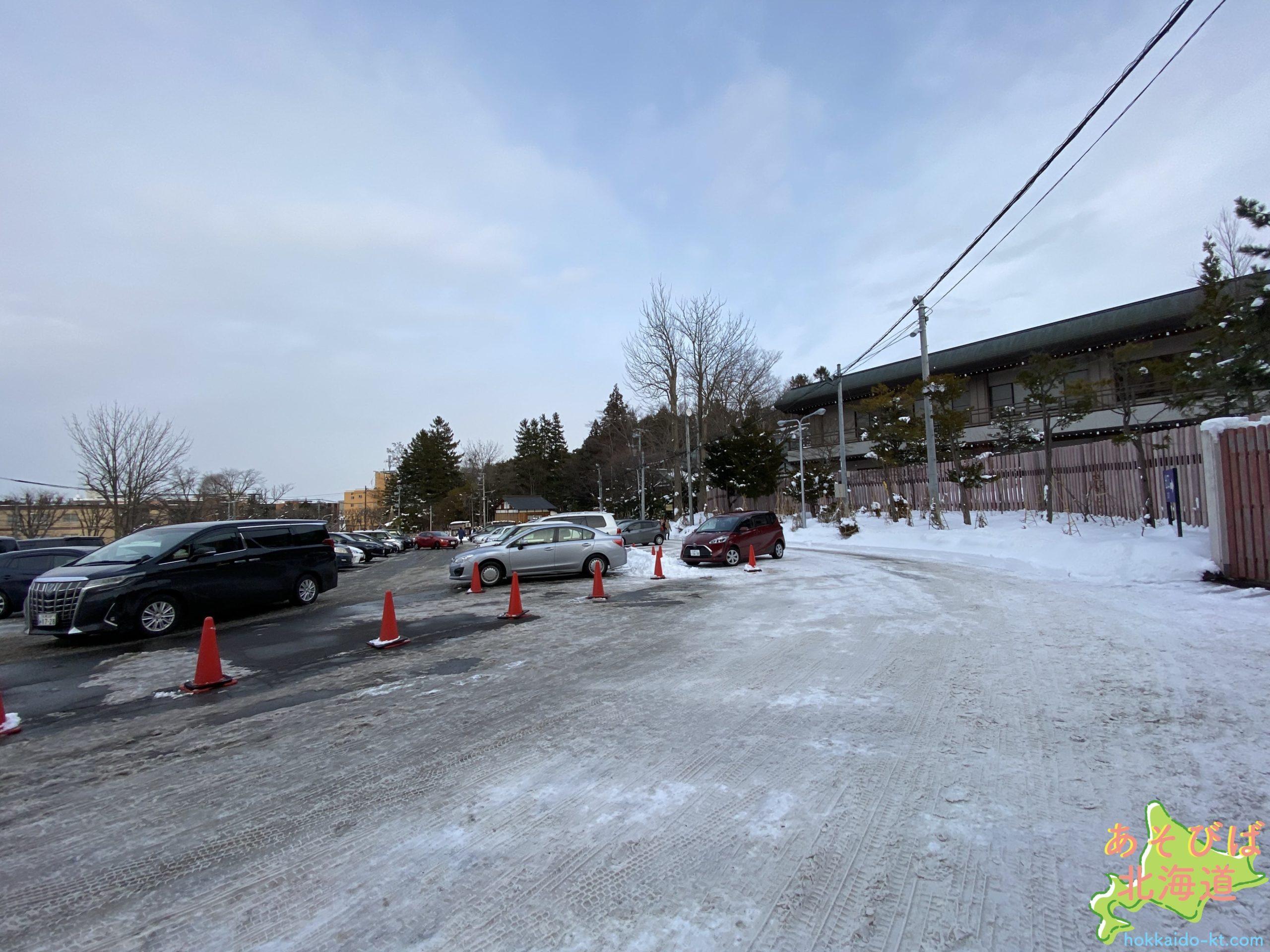 北海道神宮駐車場