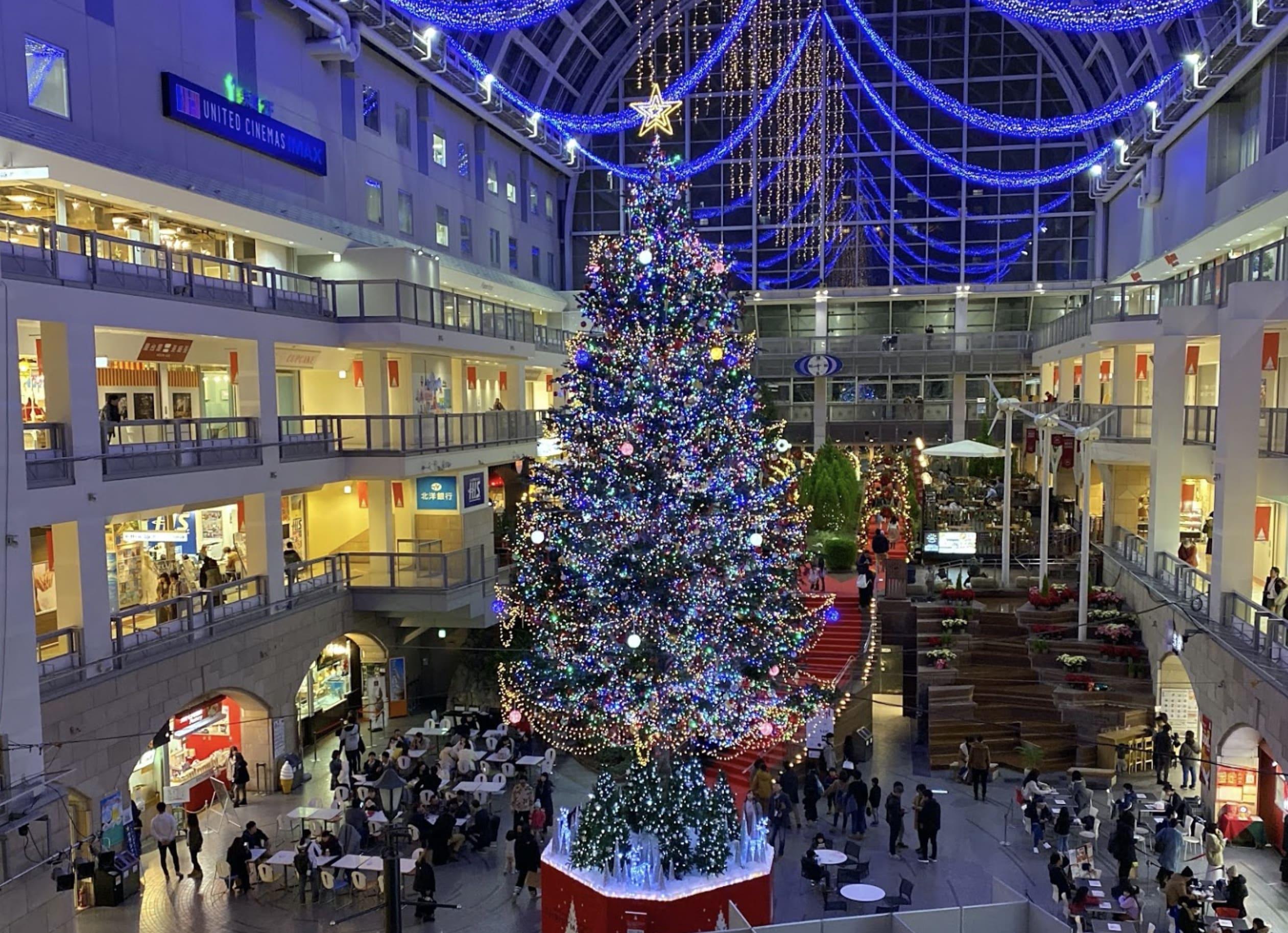 サッポロファクトリークリスマスツリー