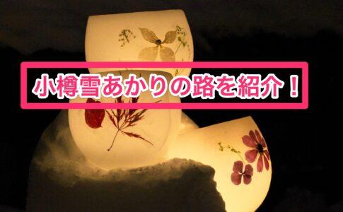 小樽雪あかりの路を紹介