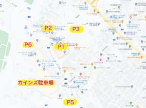 三井アウトレットパーク札幌北広島駐車場