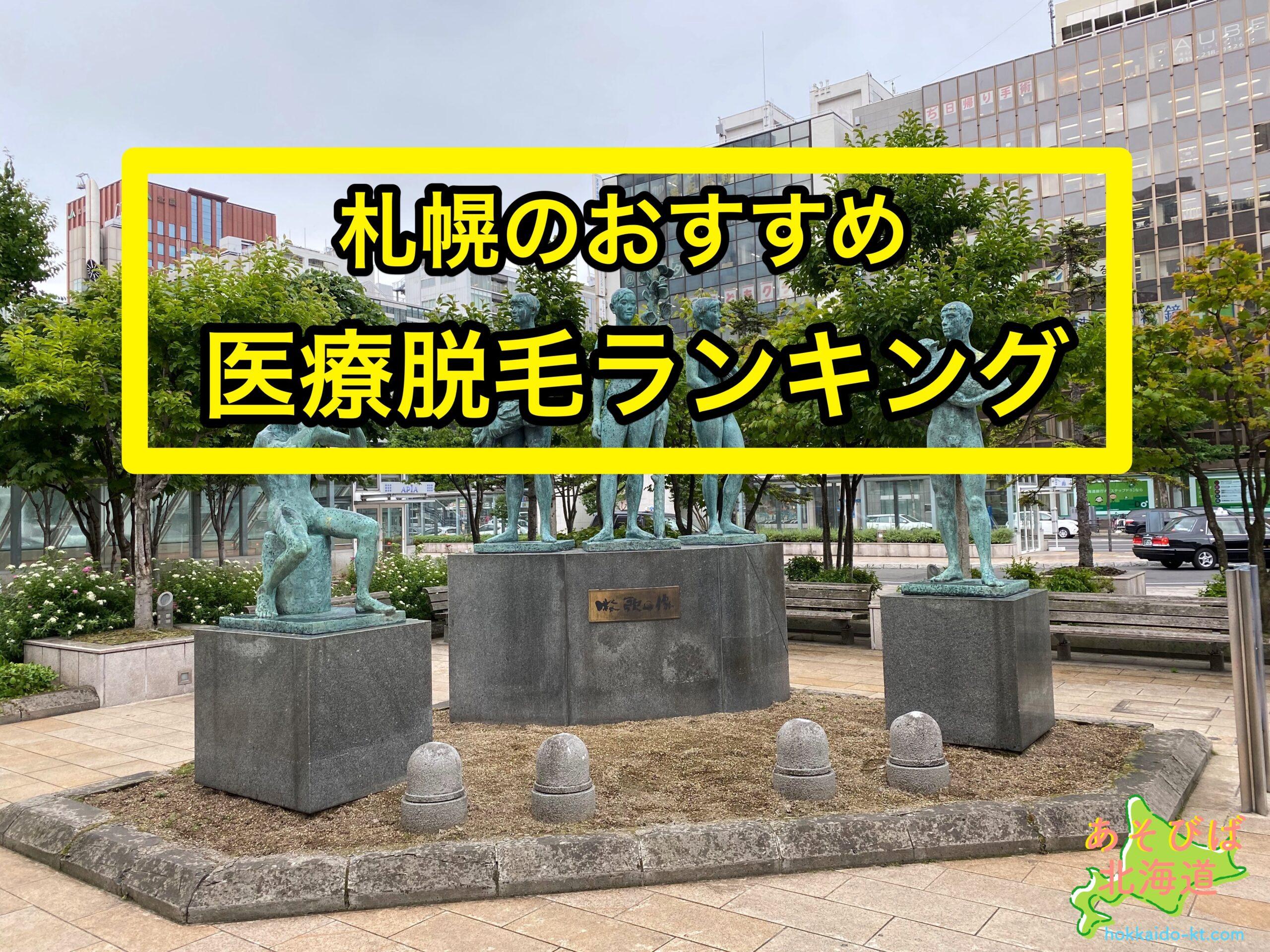 札幌の医療脱毛ランキング