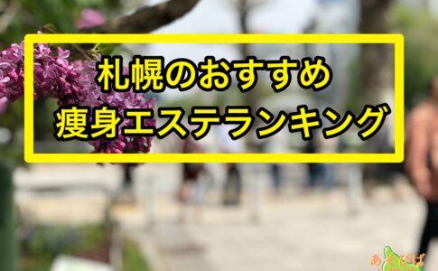 札幌の痩身エステおすすめランキング