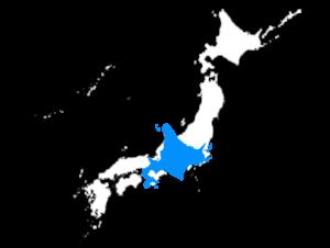 北海道の広さを本州と比較