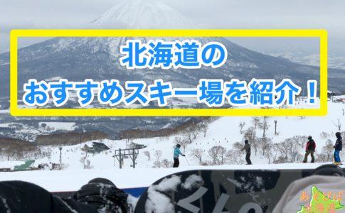 北海道のおすすめスキー場を紹介