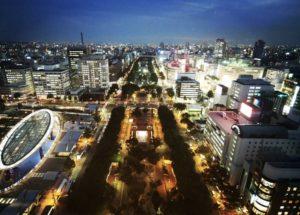 久屋大通の夜景