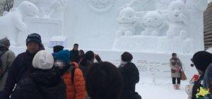 2月上旬の札幌雪まつりの服装