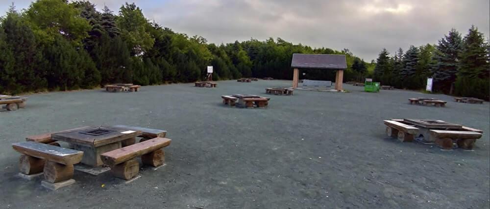 川下公園のピクニック広場
