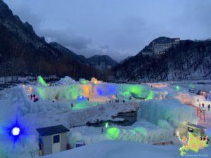 層雲峡温泉氷瀑祭り