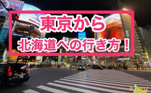 東京から北海道への行き方