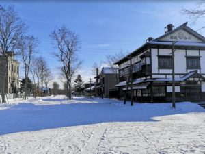 冬の北海道開拓の村