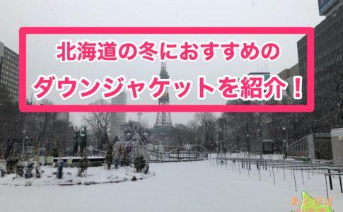 北海道の冬におすすめのダウンジャケットを紹介